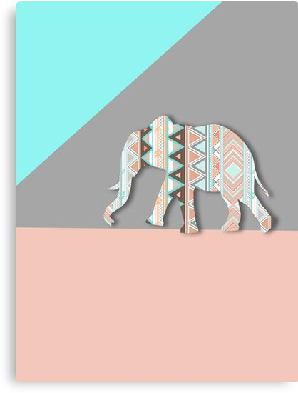 Tribal Elephant  by sunkisseddesign