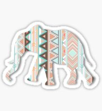 Tribal Elephant  Sticker
