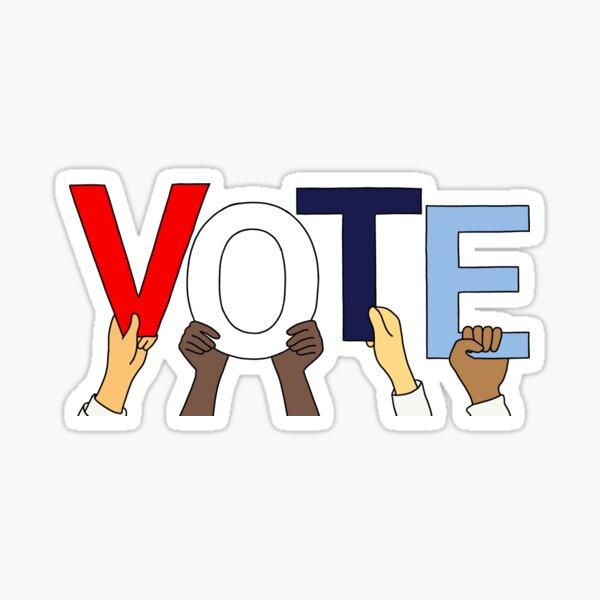Vote America Mask Sticker