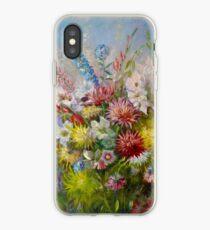 Olga Jonsson Oil Painting Flowers iPhone Case