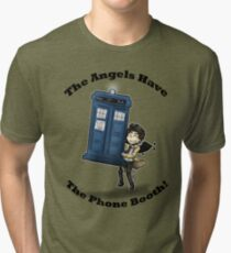 Castiel Has The Phone Booth Tri-blend T-Shirt