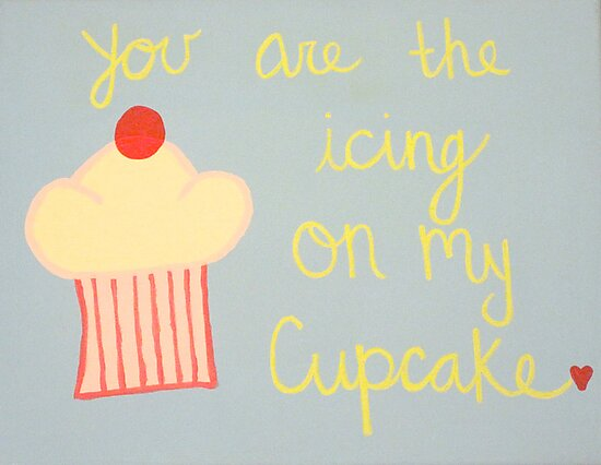 The icing on my cupcake by Ali Hatfield