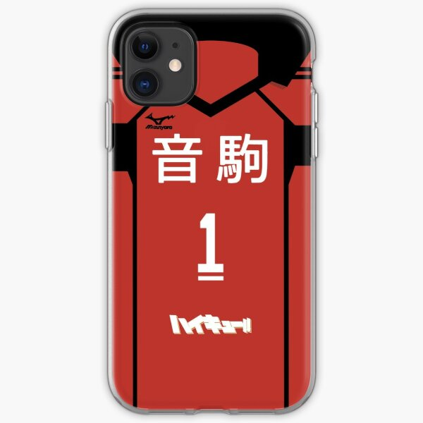 HAIKYUU!! KUROO TETSURO JERSEY PHONE CASE NEKOMA ANIME SAMSUNG GALAXY + IPHONE iPhone Soft Case