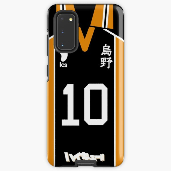 HAIKYUU!! SHOYO HINATA JERSEY PHONE CASE KARASUNO ANIME SAMSUNG GALAXY + IPHONE Samsung Galaxy Tough Case