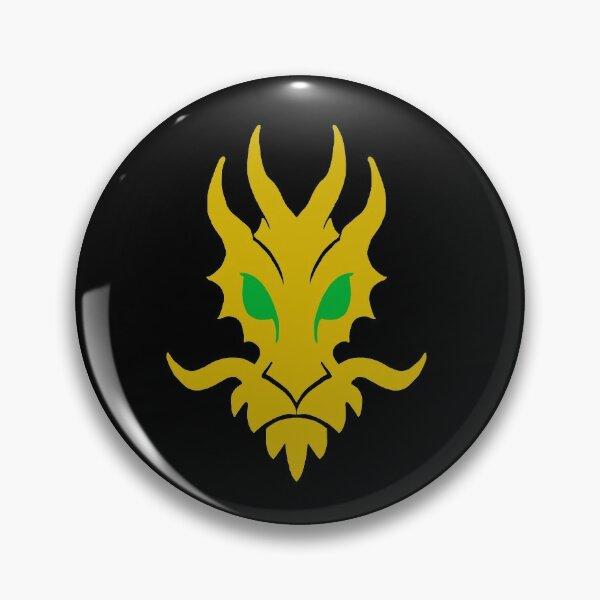 Lloyd Garmadon/Energy Dragon Logo (Black Vers.) Pin