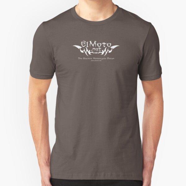 ElMoto tribal white Slim Fit T-Shirt