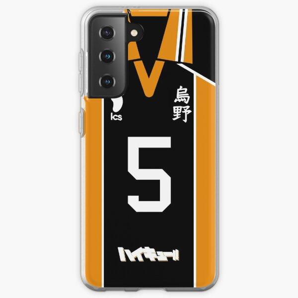 HAIKYUU!! TANAKA RYUUNOSUKE JERSEY PHONE CASE KARASUNO ANIME SAMSUNG GALAXY + IPHONE Samsung Galaxy Soft Case