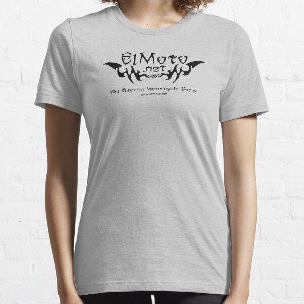 ElMoto tribal black Essential T-Shirt