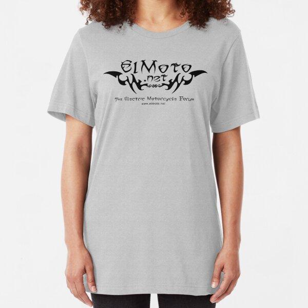 ElMoto tribal black Slim Fit T-Shirt