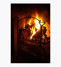 Open Fire Photographic Print