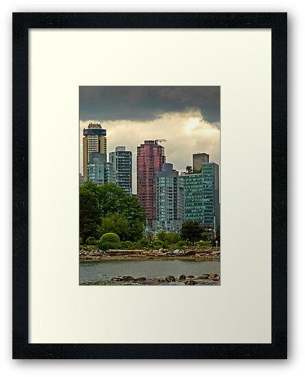 Vancouver Skyline by mlphoto