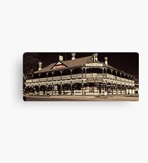 Coolamon Hotel, Rural Watering Hole Canvas Print