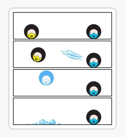 Ice Throw Sticker