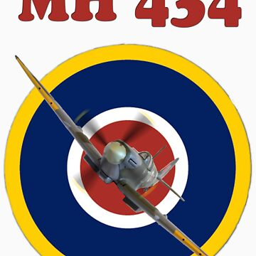 MH434 Spitfire Tee Shirt by Arrowman