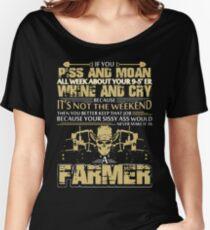 Farmer Tshirt Women's Relaxed Fit T-Shirt
