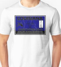 Louisiana Zombie Hunting License T-Shirt