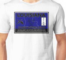 Louisiana Zombie Hunting License Unisex T-Shirt