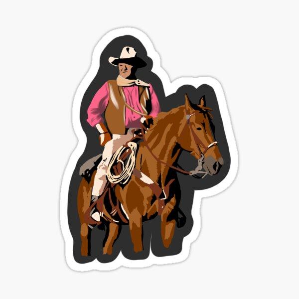 John Wayne Sticker
