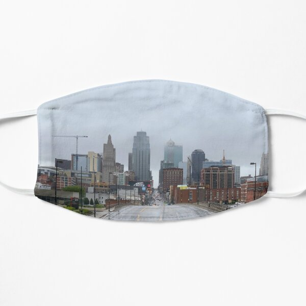 Misty Morning in Kansas City Mask