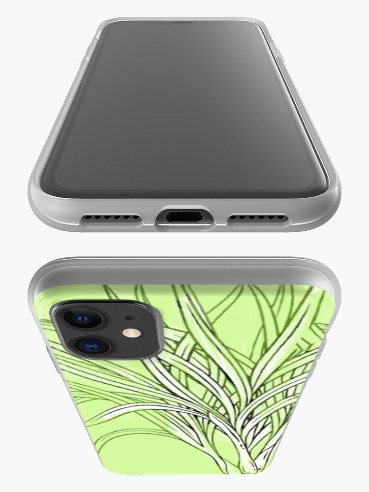 Alternative Ansicht von MUSTER GRÜN iPhone-Hülle & Cover