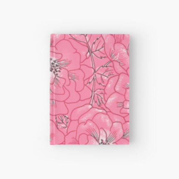 PATTERN ROSE Hardcover Journal