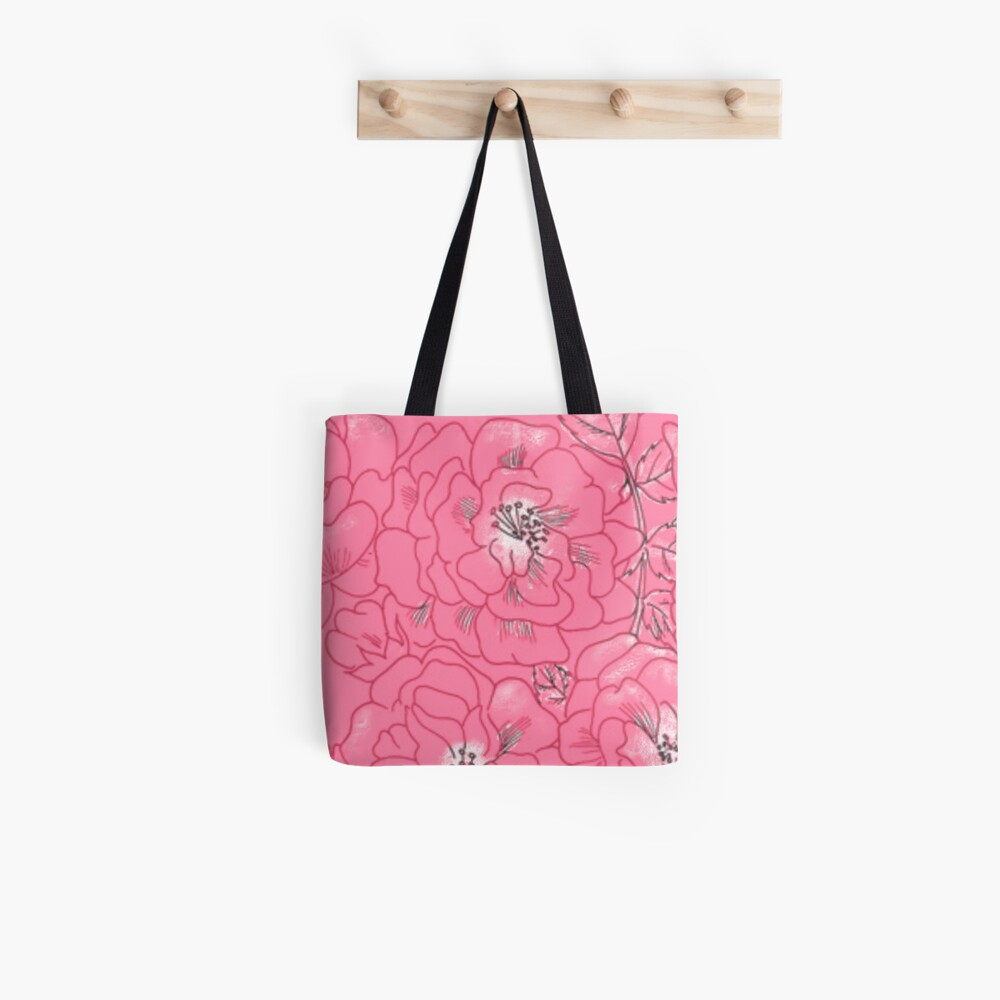 MUSTER ROSE Stofftasche