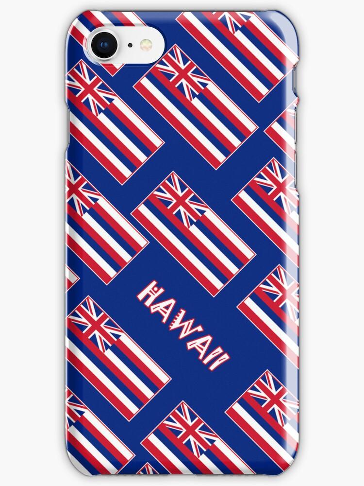Smartphone Case - State Flag of Hawaii  - Blue Diagonal Named by Mark Podger