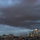 Is if the end for the bankers? Fulminating clouds over Canary Wharf by ravishlondon