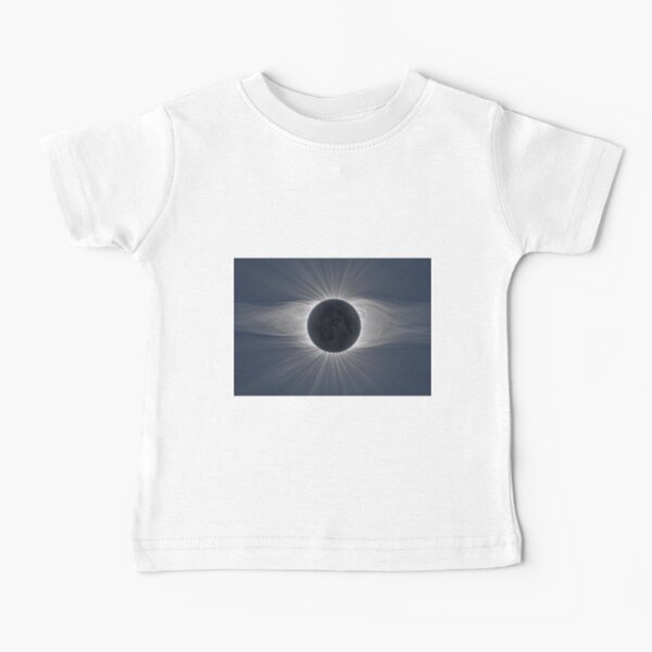 Beautiful image of the Sun's corona during a solar eclipse Baby T-Shirt
