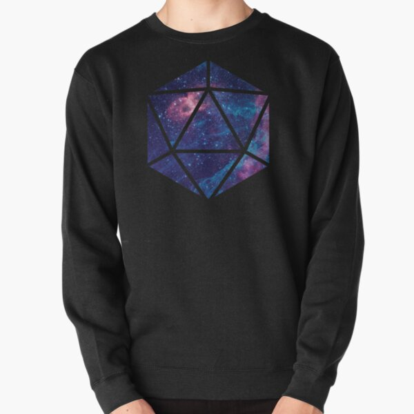 D20 Falling Star Portal Pullover Sweatshirt