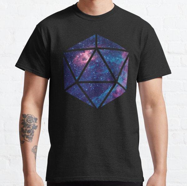 D20 Falling Star Portal Classic T-Shirt