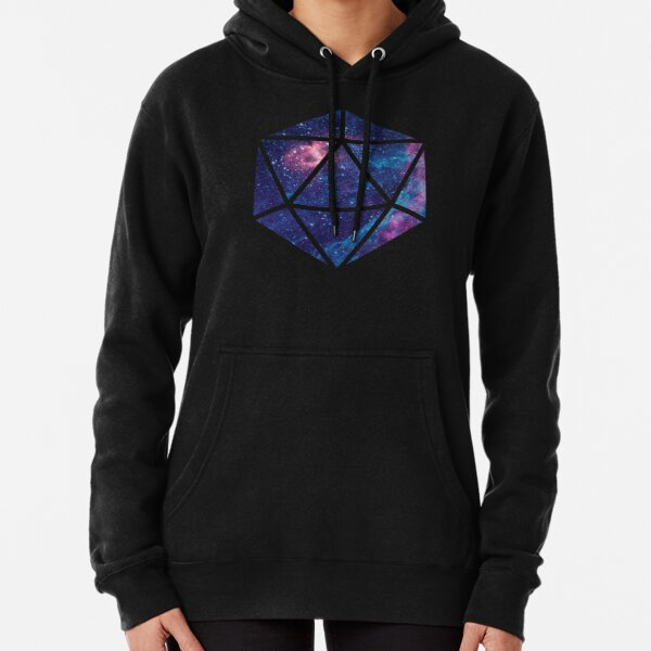 D20 Falling Star Portal Pullover Hoodie