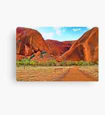 Uluru - Painted Canvas Print