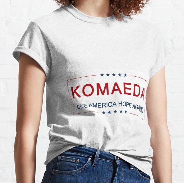 Nagito Komaeda para presidente 2020 Camiseta clásica
