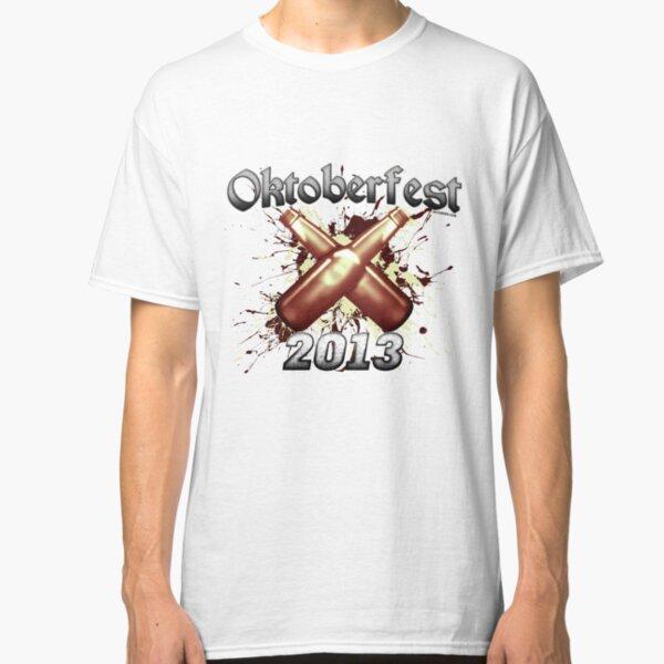 Oktoberfest Beer Bottles 2013 Classic T-Shirt