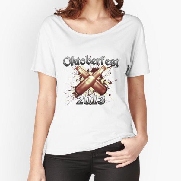 Oktoberfest Beer Bottles 2013 Relaxed Fit T-Shirt