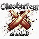 Oktoberfest Beer Bottles 2013 by Oktobeer
