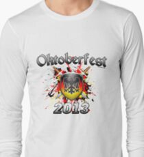Oktoberfest Coat Of Arms 2013 Long Sleeve T-Shirt
