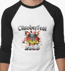 Oktoberfest Coat Of Arms 2013 Men's Baseball ¾ T-Shirt