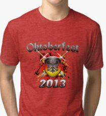 Oktoberfest Coat Of Arms 2013 Tri-blend T-Shirt