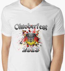 Oktoberfest Coat Of Arms 2013 Men's V-Neck T-Shirt