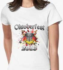 Oktoberfest Coat Of Arms 2013 Women's Fitted T-Shirt