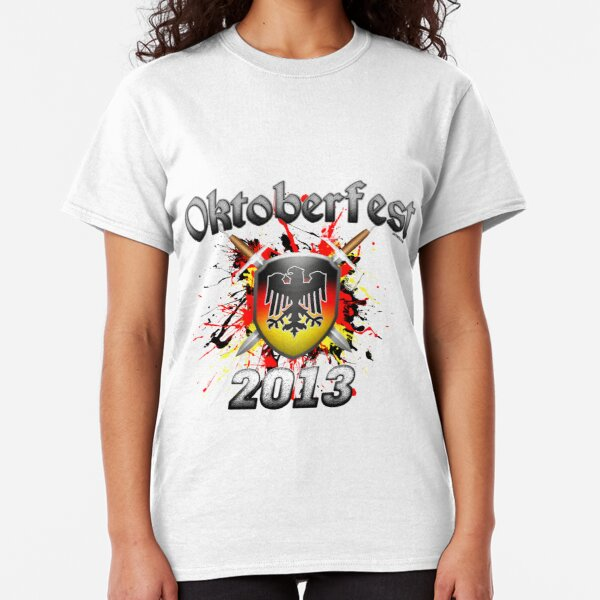 Oktoberfest Coat Of Arms 2013 Classic T-Shirt
