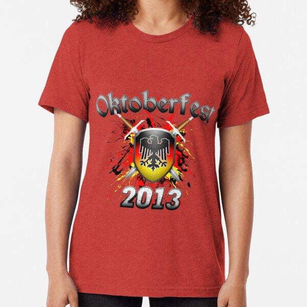 Oktoberfest Coat Of Arms 2013 Tri-blend T-Shirt