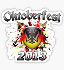 Oktoberfest Coat Of Arms 2013 Sticker