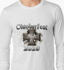 Oktoberfest Iron Cross 2013 Long Sleeve T-Shirt
