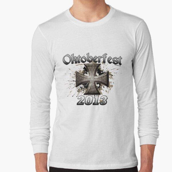 Oktoberfest Iron Cross 2013 Long Sleeve T-Shirt