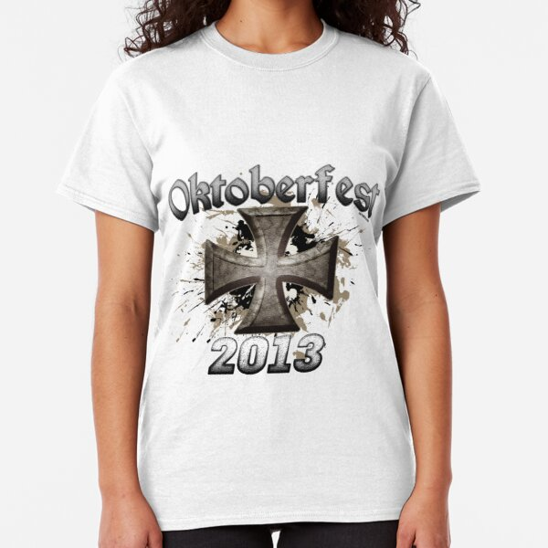 Oktoberfest Iron Cross 2013 Classic T-Shirt