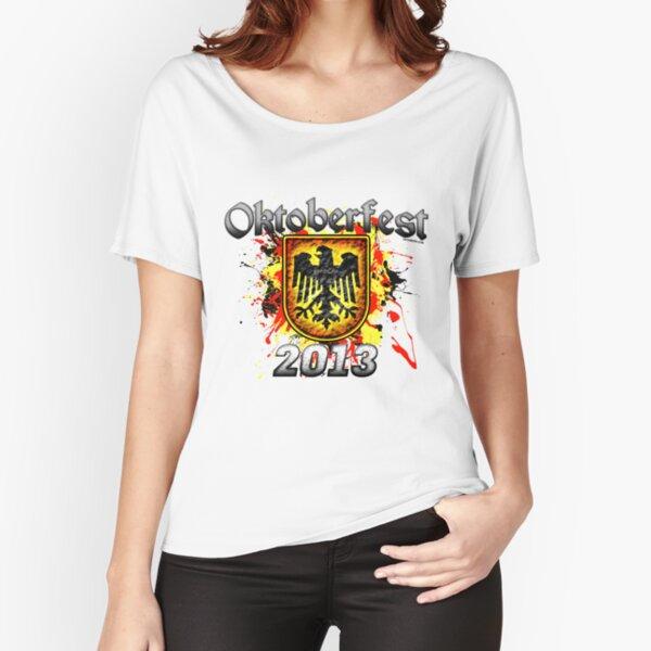 Oktoberfest Eagle Shield 2013 Relaxed Fit T-Shirt