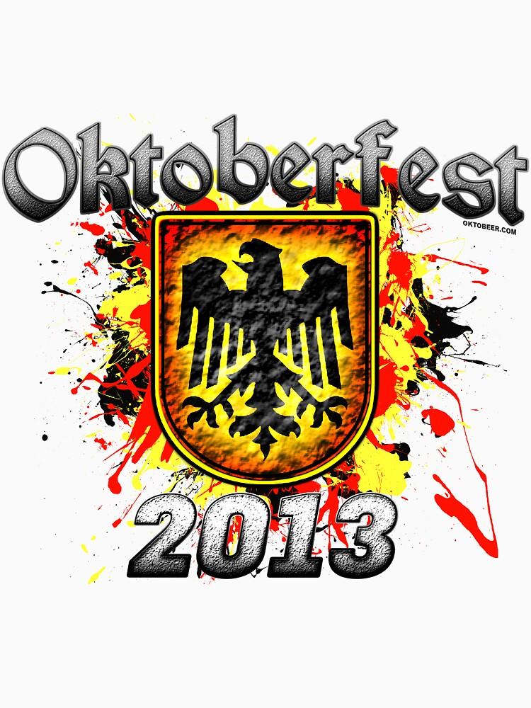 Oktoberfest Eagle Shield 2013 by Oktobeer